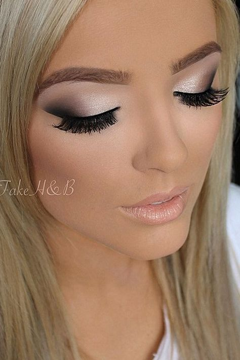 Prom Makeup Is One Of The First Major Challenges Of The Beauty World That Is Waiting For You Soon See Our Mak Hair Makeup Makeup Looks Wedding Hair And Makeup
