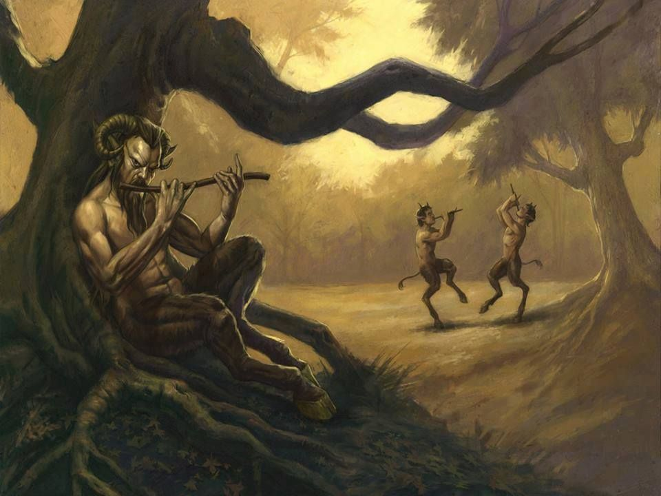 Satyrs | Pan | Pinterest | Fantasy art