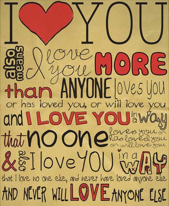 cute-valentines-day-love-quotes (9) | cute | Amor, Te quiero ...