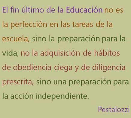 Pensemos en la educación....