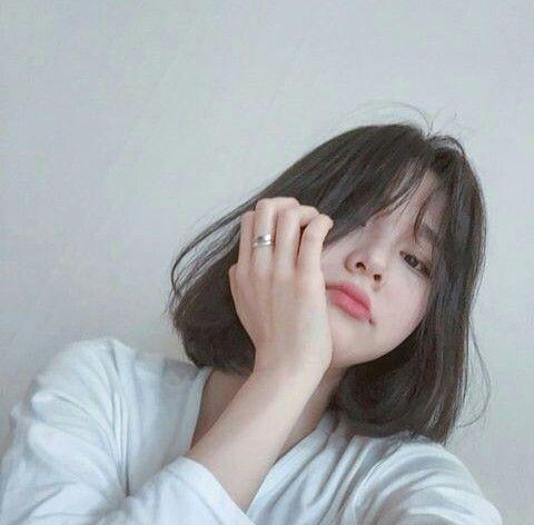 Girls Asian And Icon Image Ulzzang Short Hair Korean Short Hair Cute Korean Girl