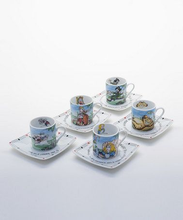 Take A Look At This Alice In Wonderland Tea Party Set By Cardew
