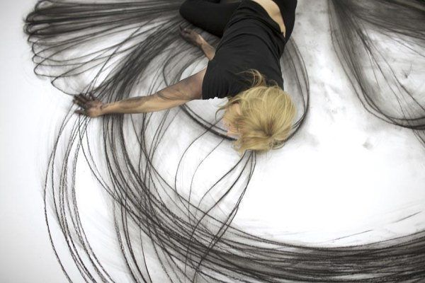 Emptying Gestures – Kinetic Illustrations by Heather Hansen   Pondly