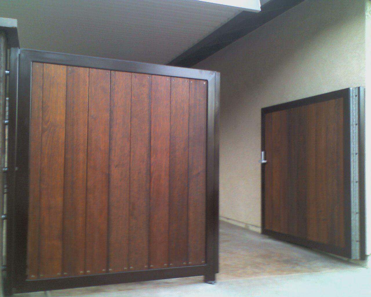 Mangaris driveway gates | gate door | Pinterest | Rejas, Madera y ...