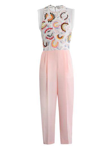 TRAGER DELANEY  Tilly embroidered jumpsuit
