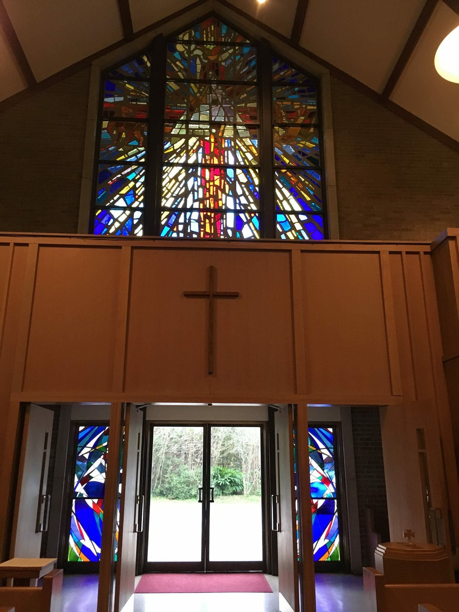 windows baton rouge sam corso stained glass windows added bottom left and right december 2015 trinity baton rouge pinterest