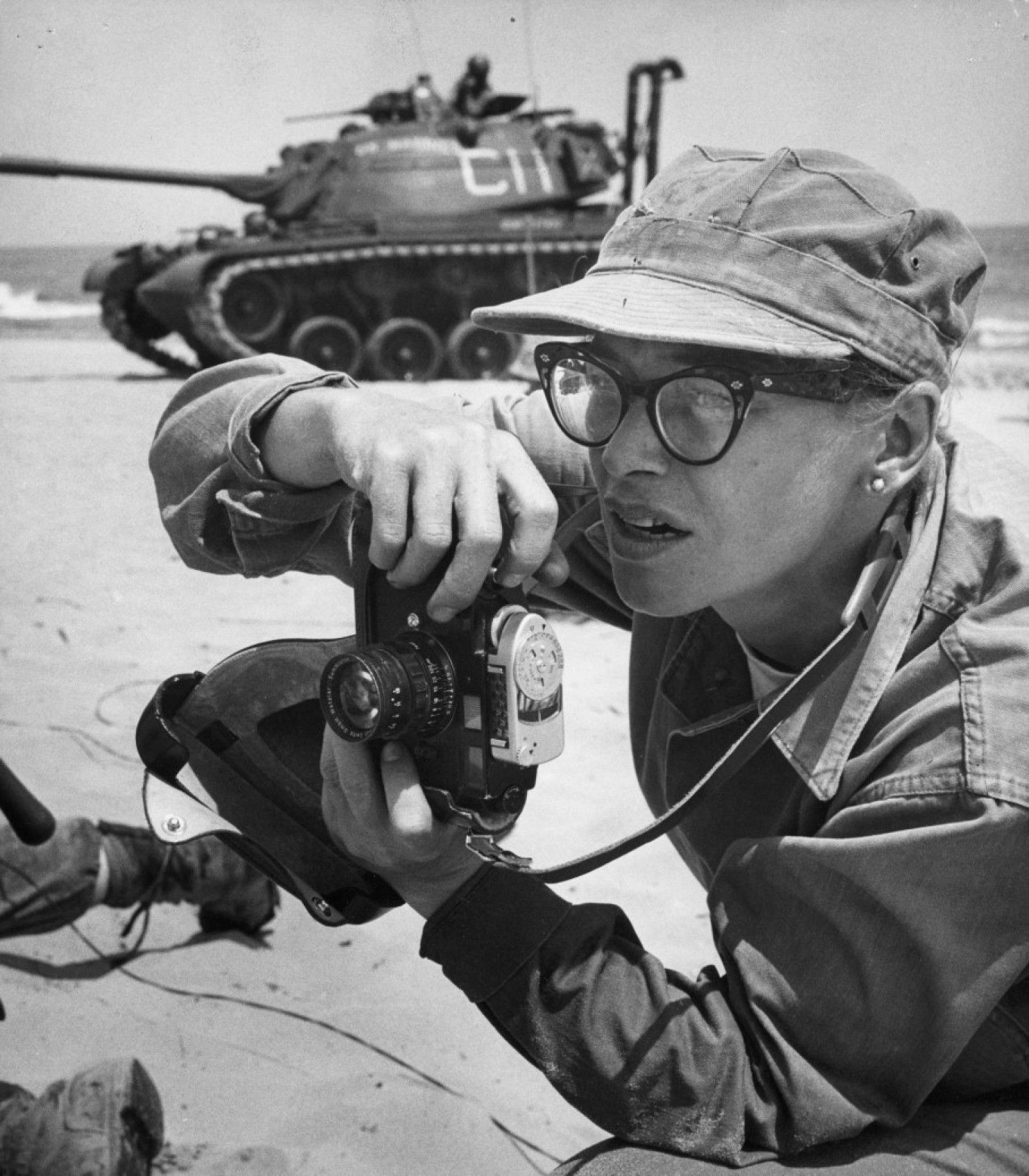 The Brilliant Photos Of The First American Female War Photographer Killed In Action
