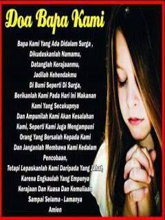 Doa Bapa Kami Alkitab Ayat Alkitab Doa