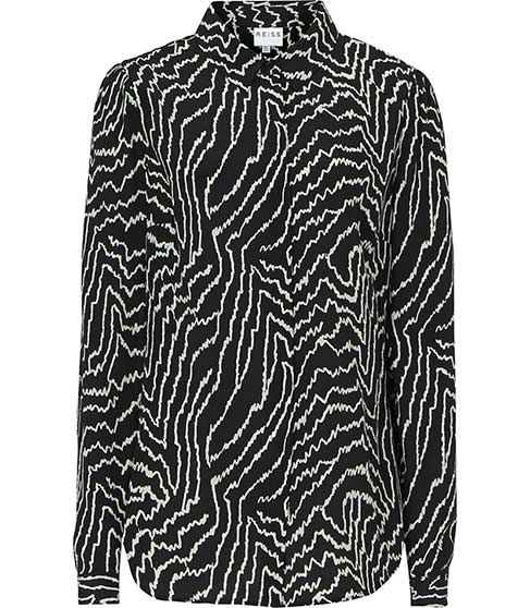 Reiss Marion GRAPHIC PRINT SHIRT