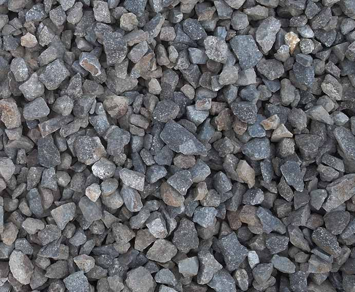 Blue Rock Landscape Materials Crushed Rock And Color Gravel Limestone Gravel Crushed Stone Gravel