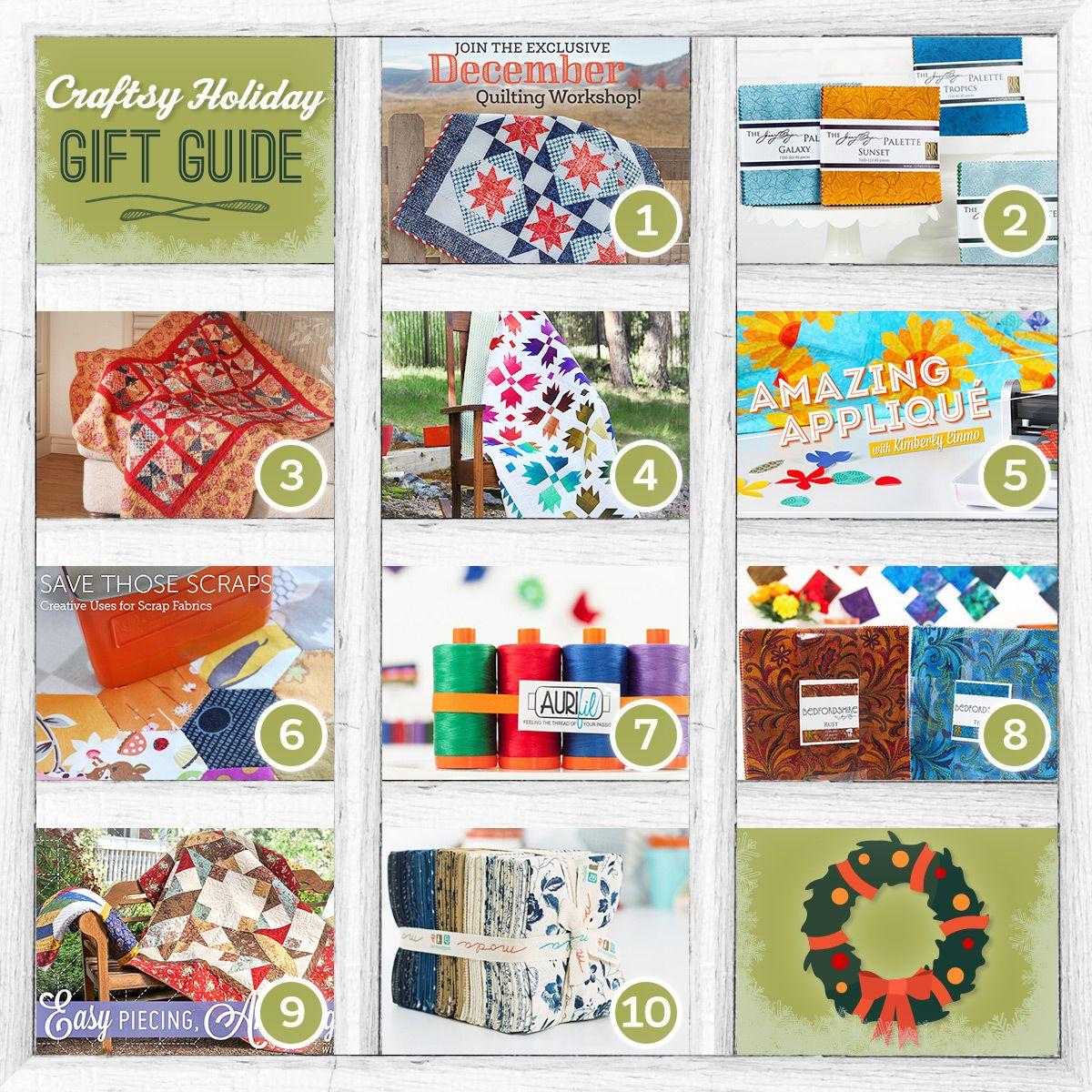 10 Christmas Gifts for Quilters | Christmas gifts, Gift and Bear paw ...