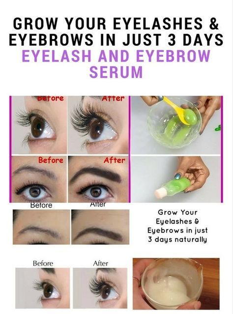 Grow Your Eyelashes Eyebrows In Just Few Days Eyebrow Serum