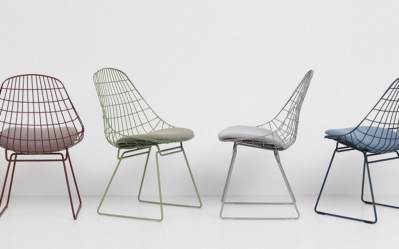Design Pastoe Stoelen : Pastoe pastoe chairs wire collection wire chair sm