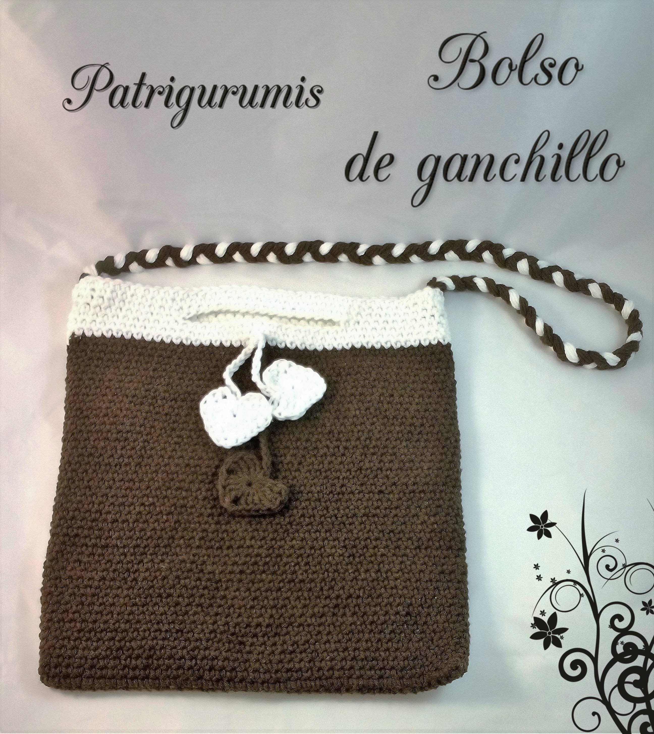 DIY Bolso en ganchillo - Crochet   Patrigurumis   Pinterest ...