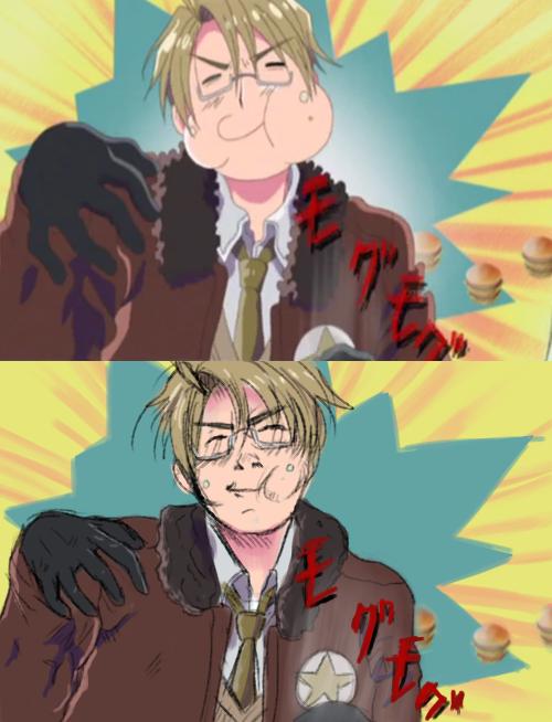 Hetalia Redraw Funny Hetalia Hetalia Hetalia America Anime