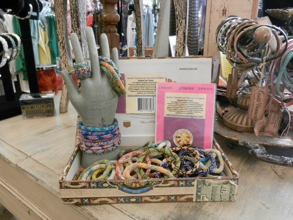 Fair trade bead bracelets- so cute stacked -you gotta have more than one!