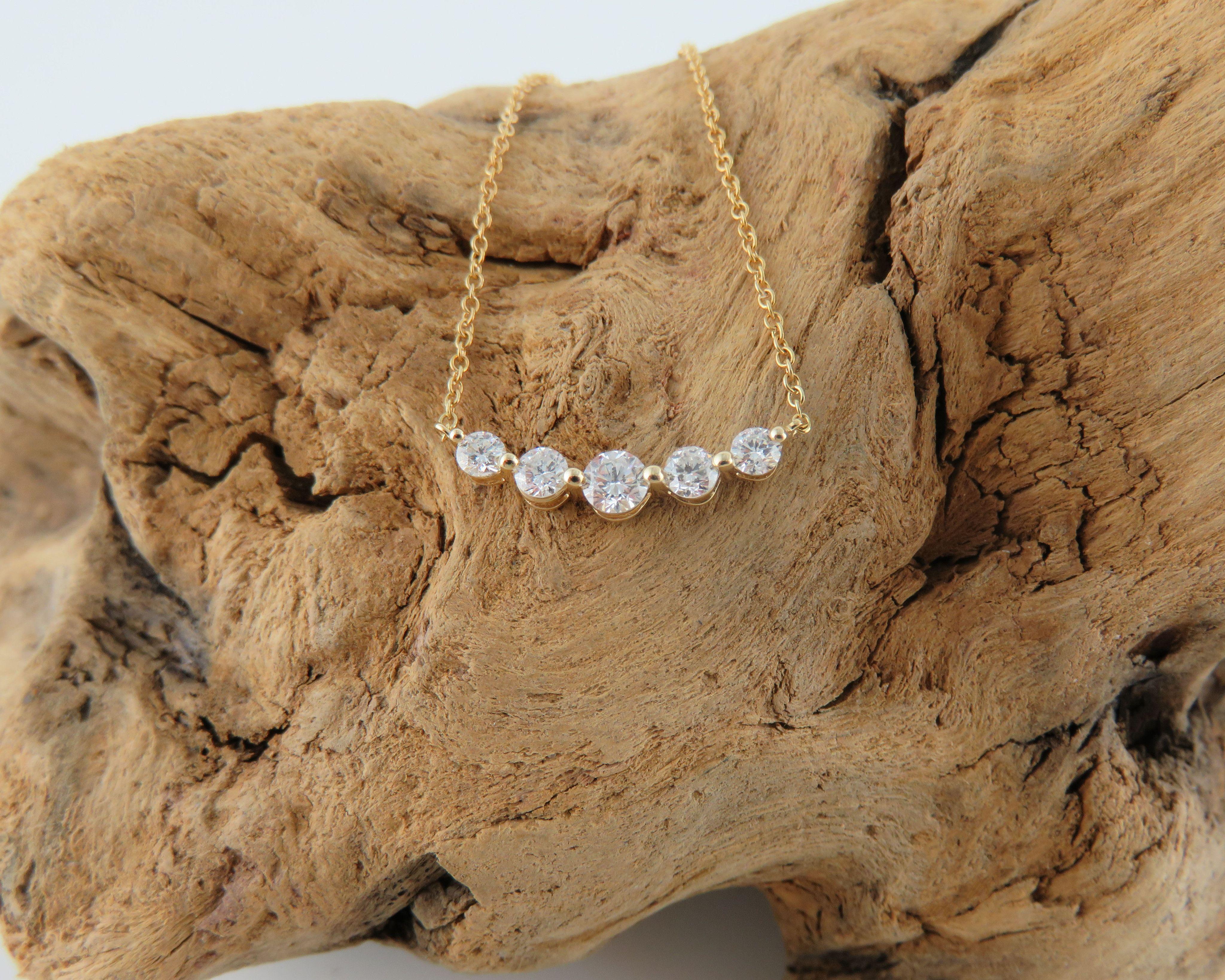 K gold diamond necklace diamond k gold necklace and gold