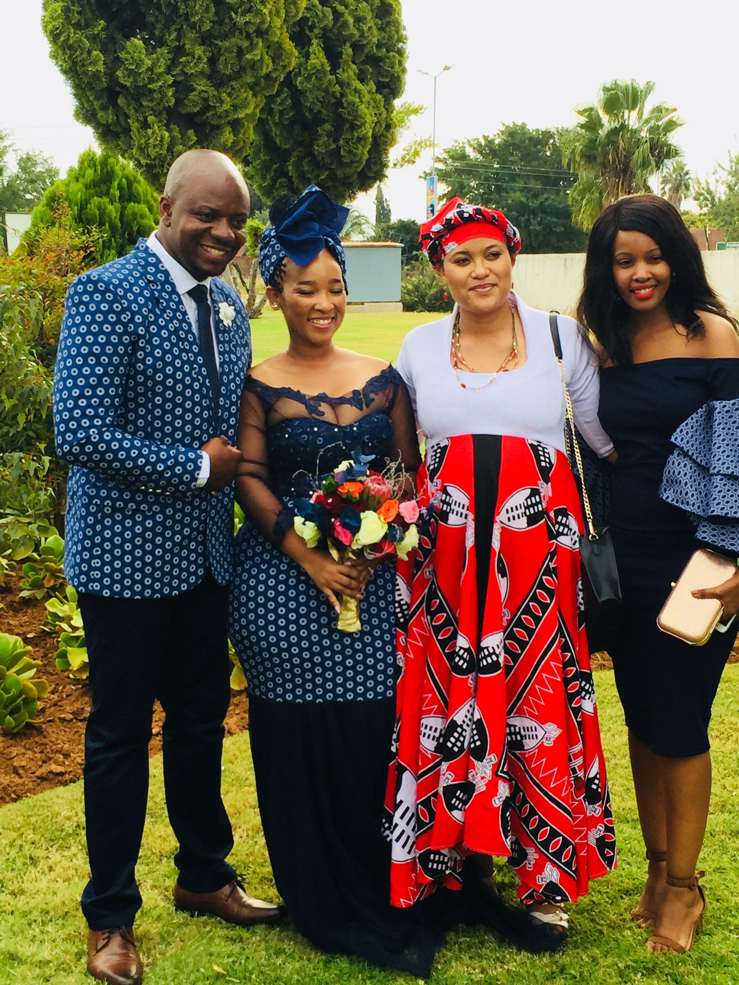 Shweshwe swati wedding attire wedding africanwedding southafrica