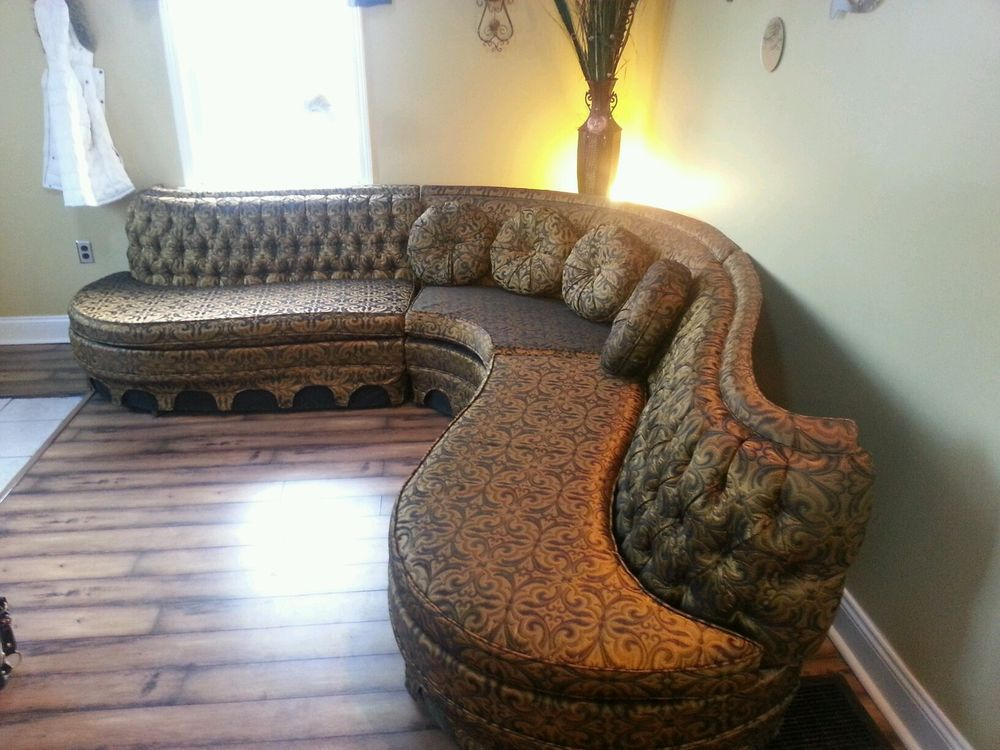 Vintage Sectional Sofa 1940s Or 1950s