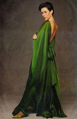 What a green ... Caroline Roehm