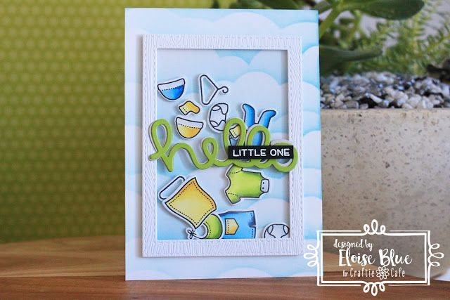 20 oct 2017 ellas cards hello little one lawn fawn image shaker - Shaker Cafe Ideas