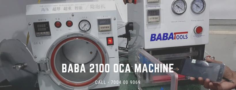 Baba 2100 Oca Lamination Machine And Why Should You Buy It Smartphone Repair Screen Repair Touch Screen Phones