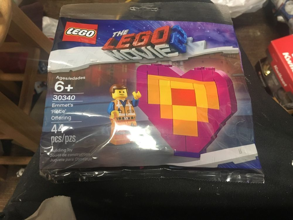 Heart Shaped Love Polybag Emmet/'s Piece Offering LEGO 30340 The Lego Movie 2