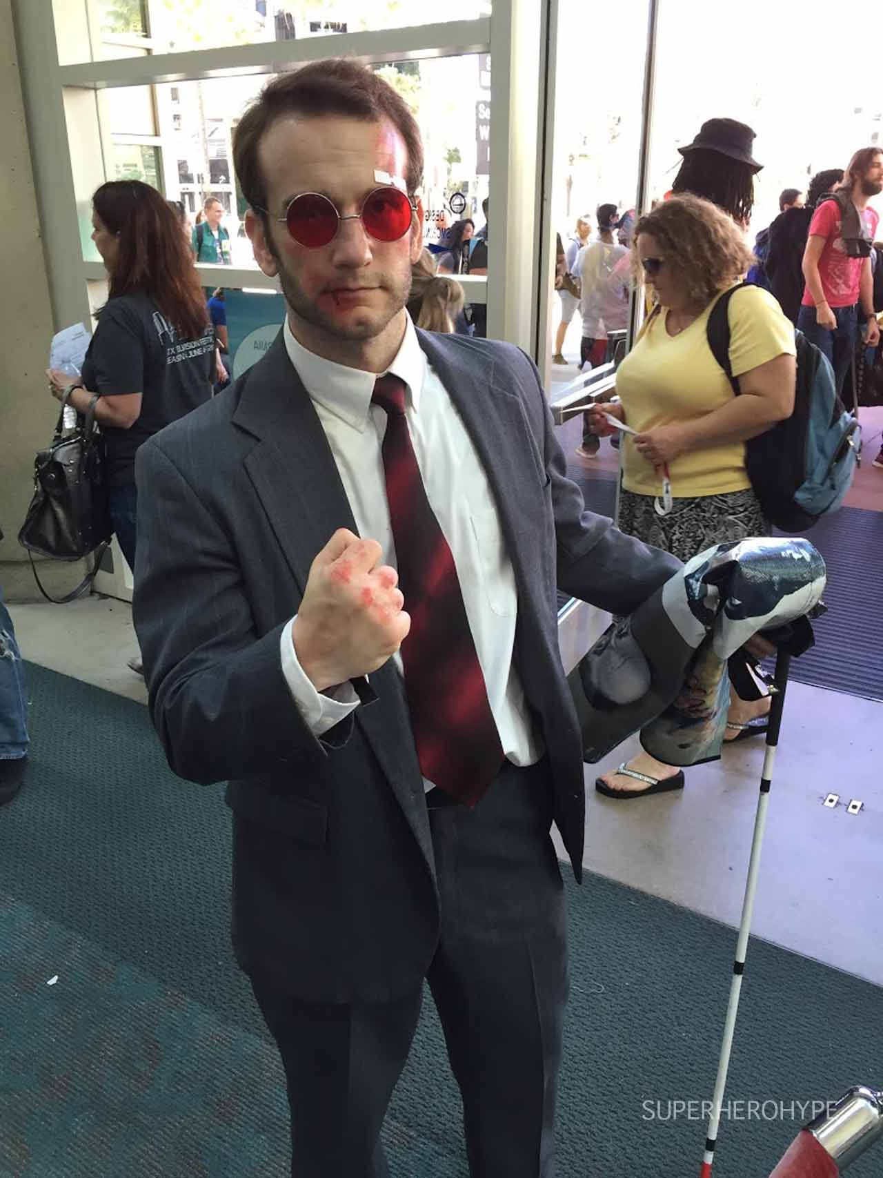 c0d0a7a1be872 Matt Murdock Daredevil - Comic-Con Cosplay Photos  Costumes at the 2015  Convention - SuperHeroHype