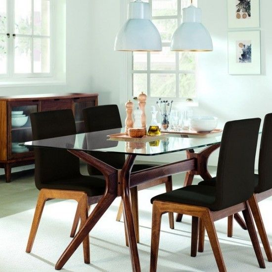 Comedor moderno madera deco pinterest comedores for Comedores modernos nuevos