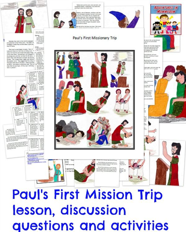 Paul's First Missionary Journey lesson | Kids' Sunday School