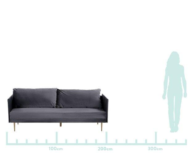 Samt Schlafsofa Lauren Home Decor Furniture Couch