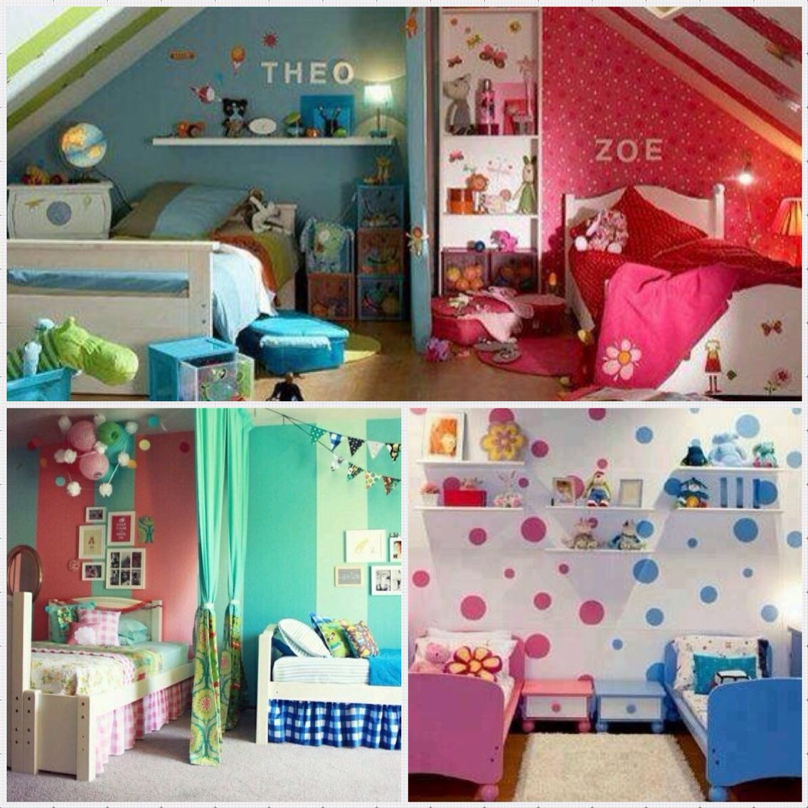 Een kamer voor broer en zus geen probleem hier een paar tips denk niet dat het onmogelijk is - Thema slaapkamer meisje ...
