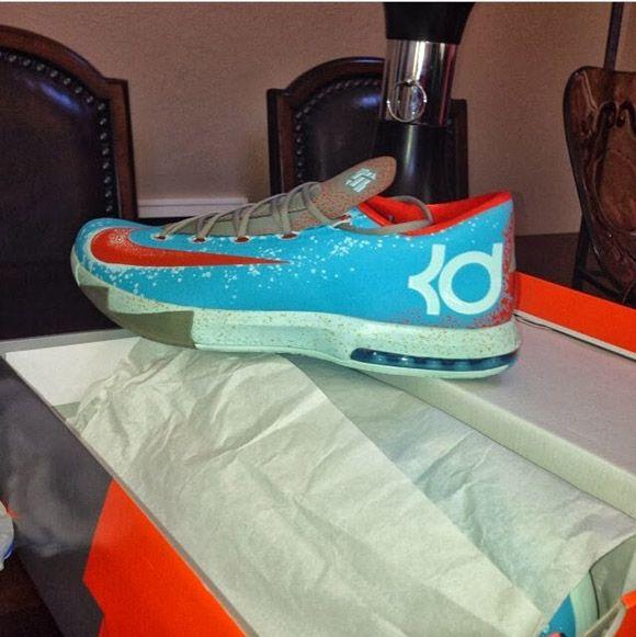 pretty nice 73063 3a4a0 Nike KD VI Maryland Blue Crab