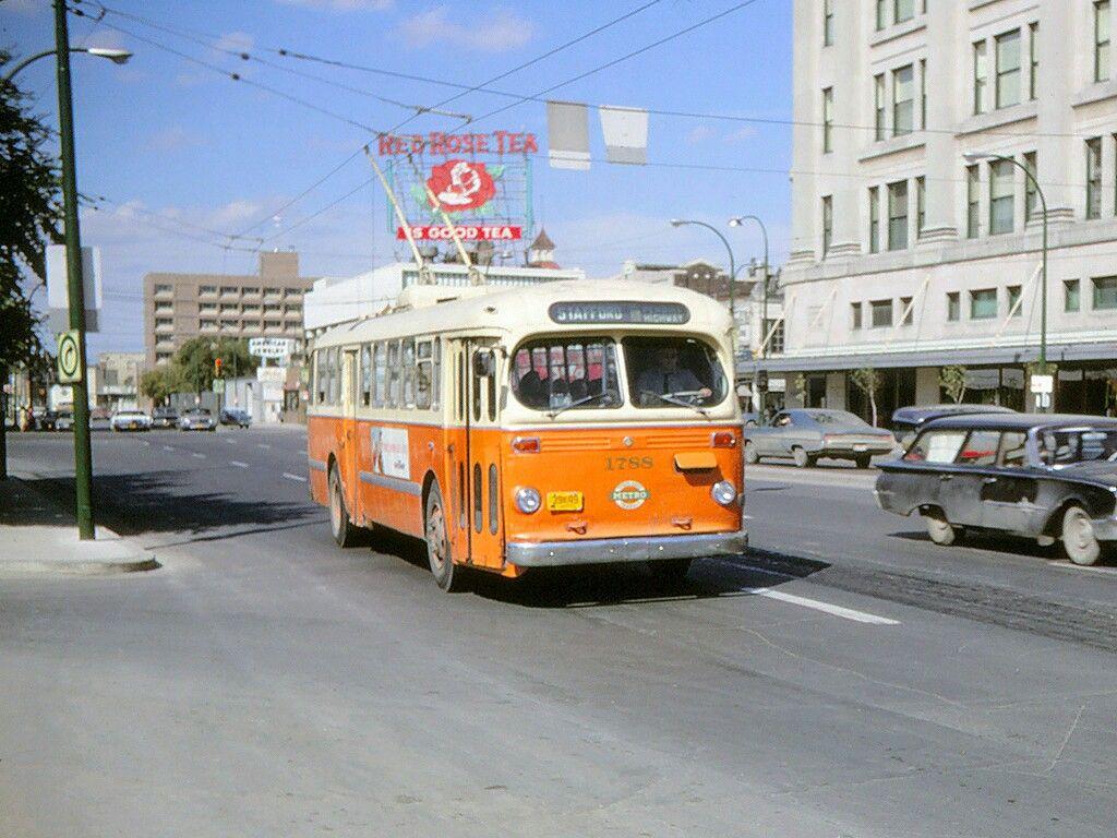 Winnipeg Transit CCF Brill trolley coach Bus, Coach