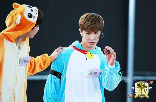 [22.05.16] Astro para a Piki Ent - EunWoo e Rocky