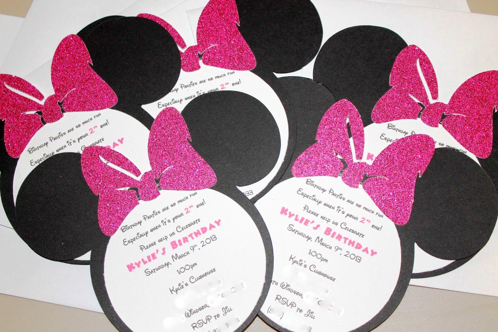 diy minnie mouse invitations template com diy minnie mouse invitations template images about happy birthday sophia on