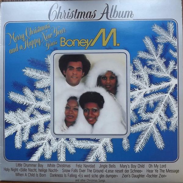 Boney M.- Christmas Album (Vinyl,LP) 1981 (With images)