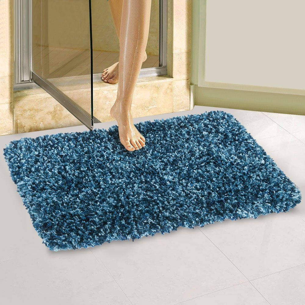Large Bath Mats Memory Foam Non Slip Bathroom Rugs With Microfiber
