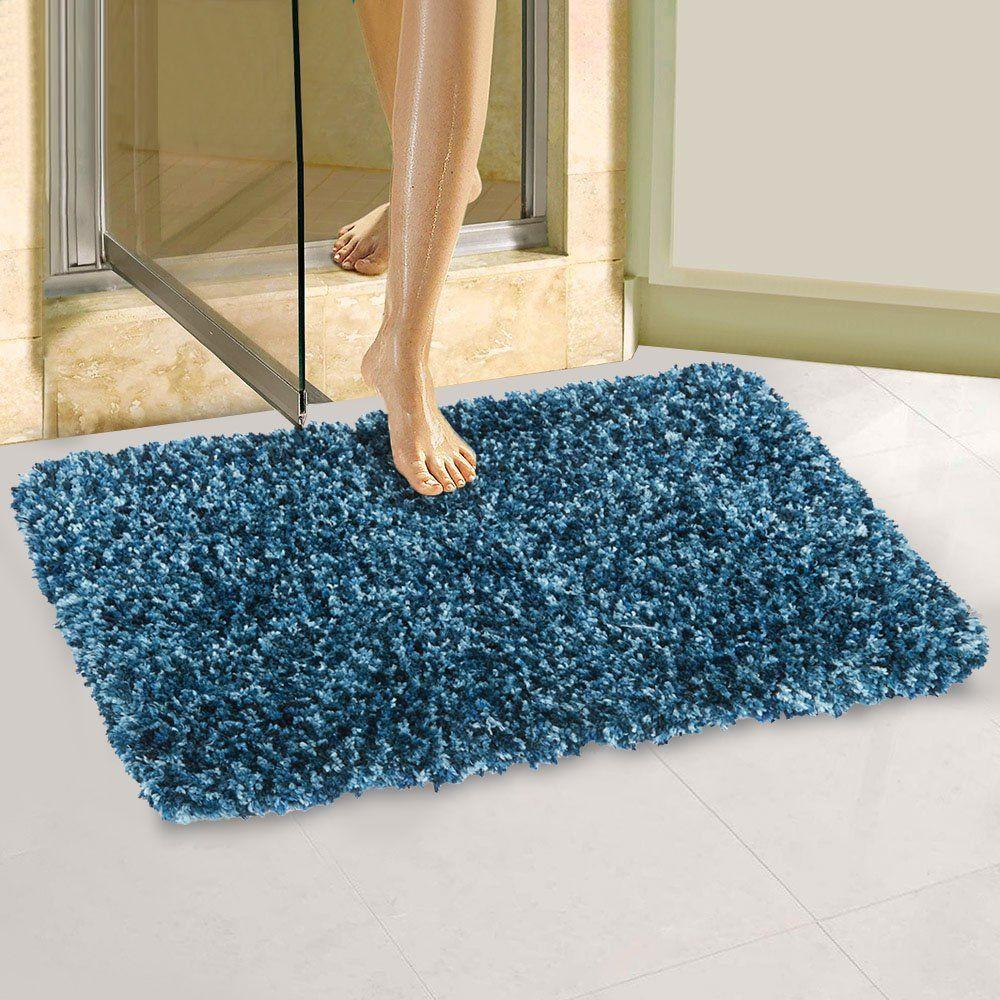 Large Bath Mats Memory Foam Non Slip Bathroom Rugs With Microfiber