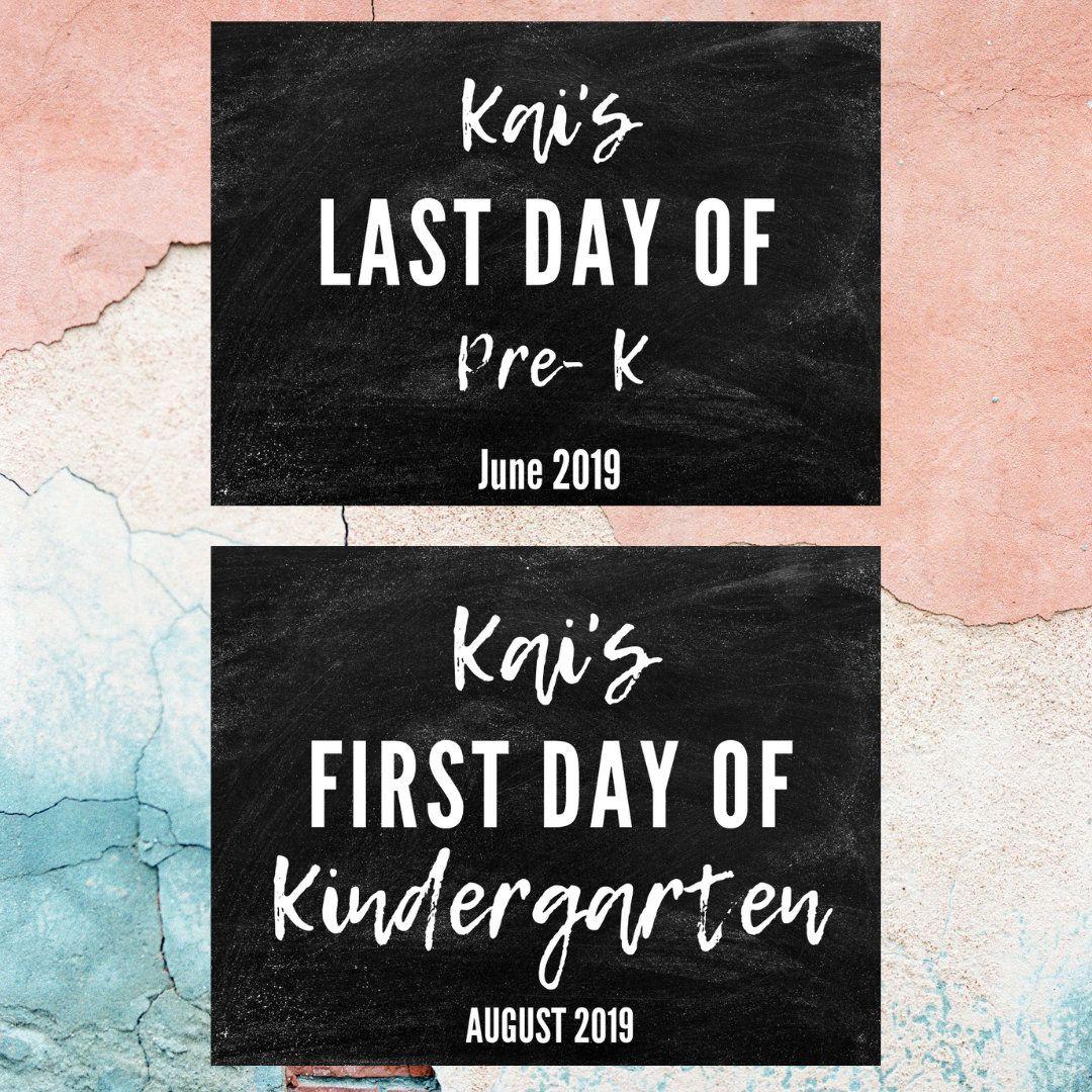 #firstdayofschoolsign