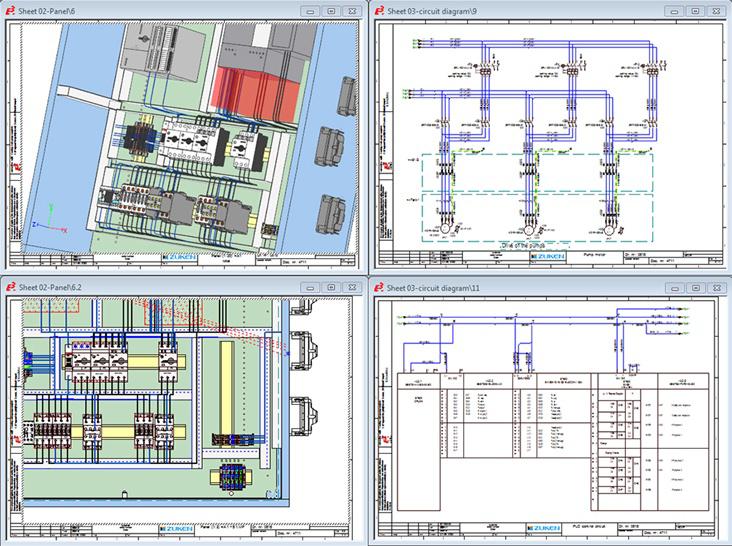 electrical panel design software e panel integrate