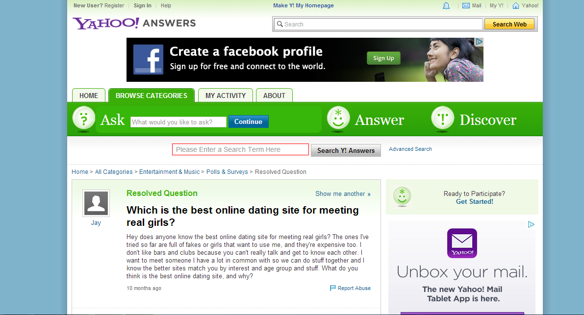 Yahoo Personals Dating Site Review