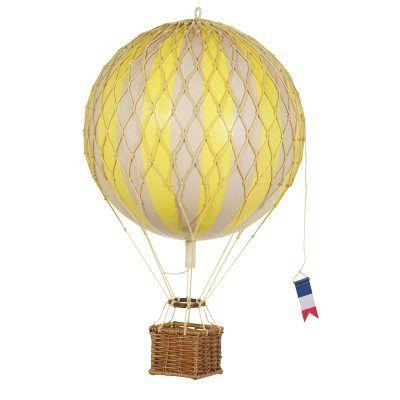 Travels Light kuumailmapallo, Authentic Models. Koristeellinen kuumailmapallo herkullisissa väreissä...