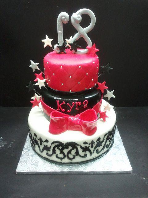 18Th Birthday Cakes For Girls Dessert Pinterest 18th birthday