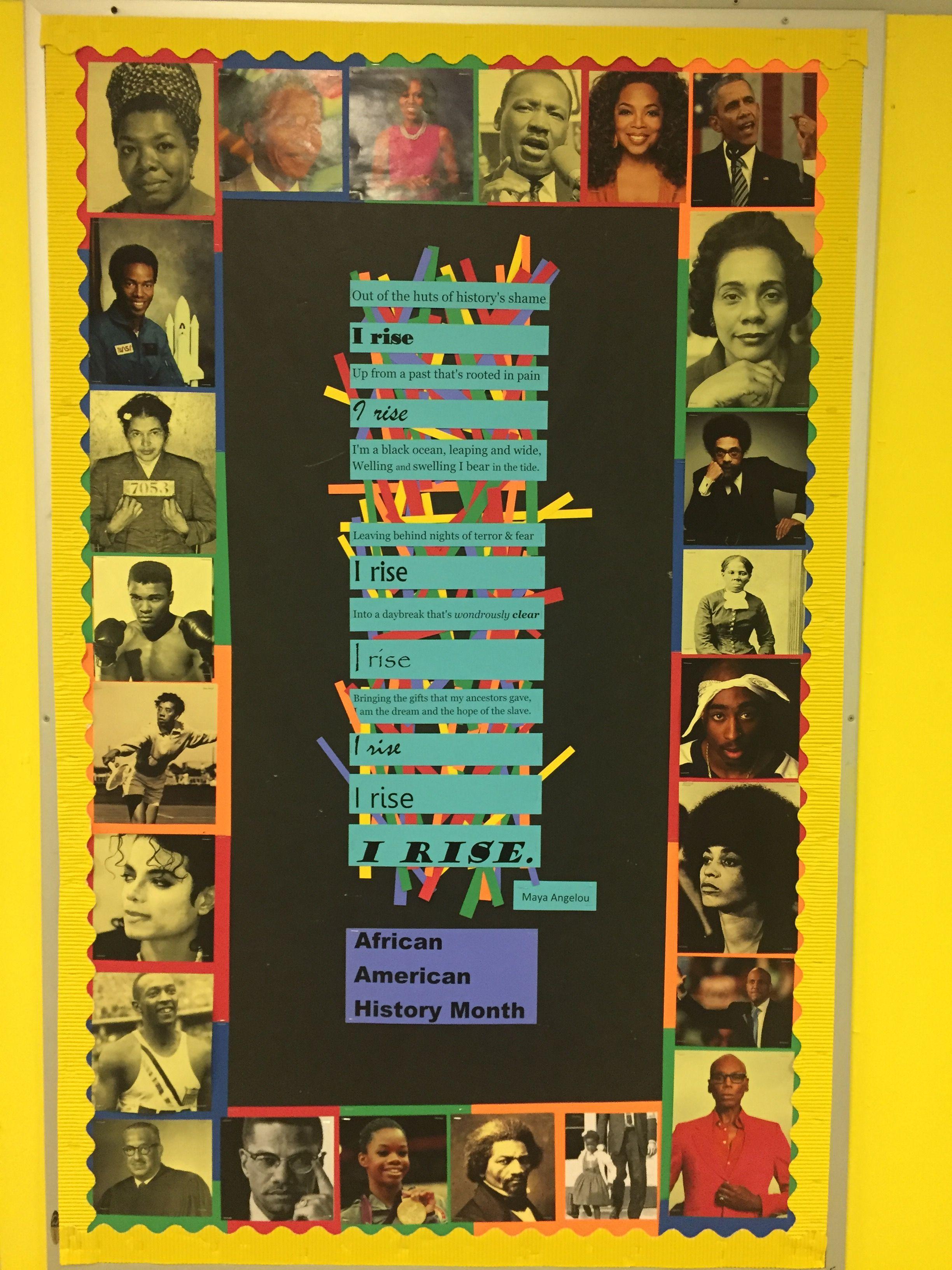 African American History Bulletin Board