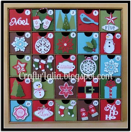Crafty Lalia: Very Merry Christmas Blog Hop with my Advent Calendar