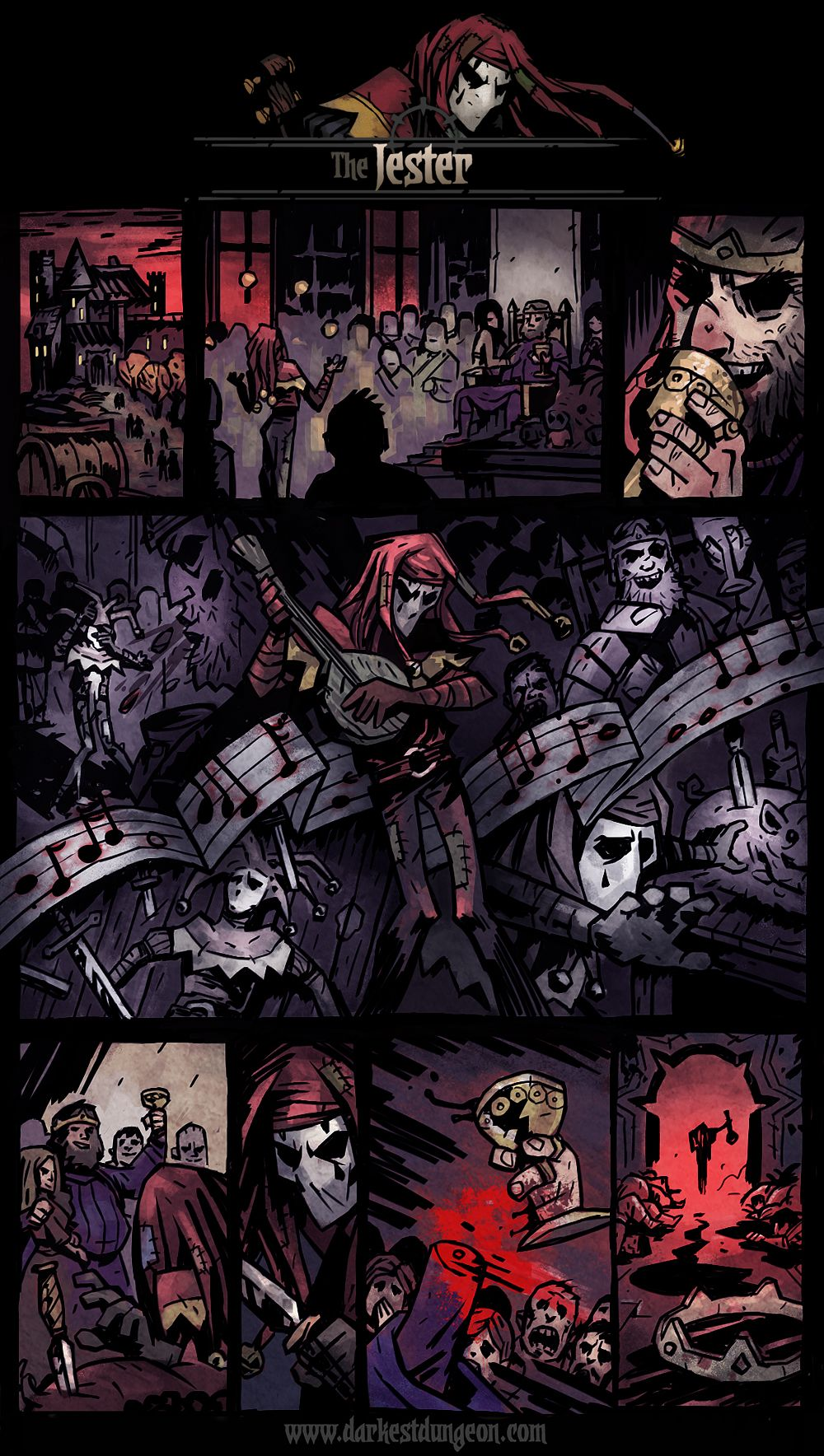 Darkest Dungeon Presents: The Jester | Darkest Dungeon | Darkest