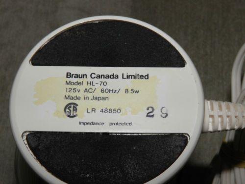 Braun / HL-70 / Canada