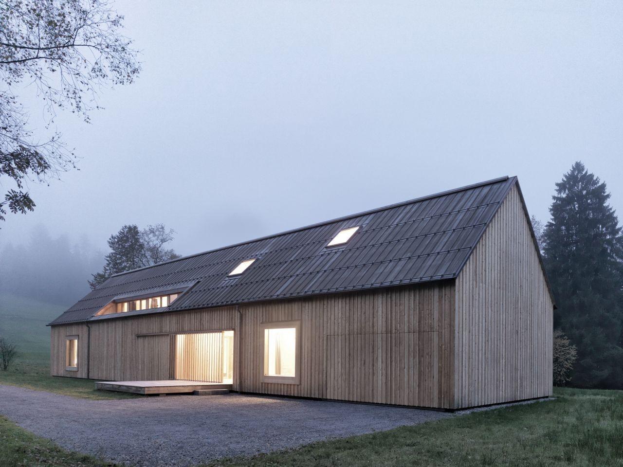 Modern Rustikale Bader ~ Gallery of haus am moor bernardo bader architects