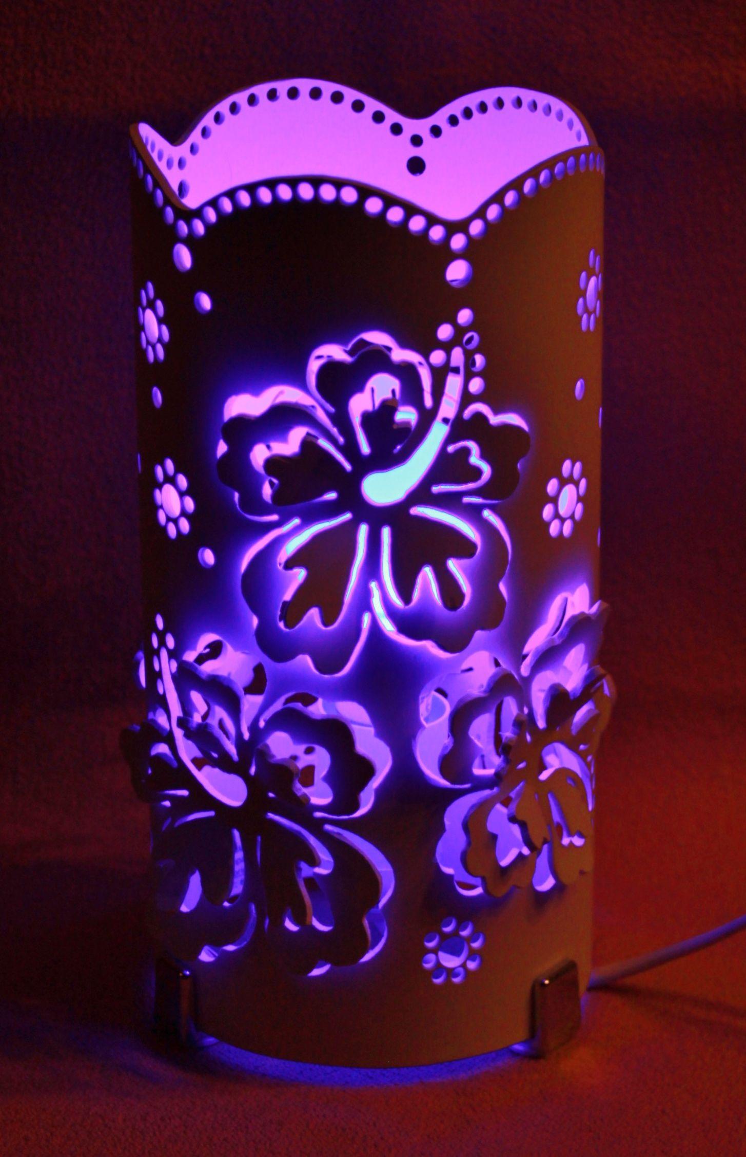 Lámpara hibiscos